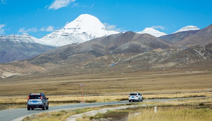 The sacred Mount Kailash