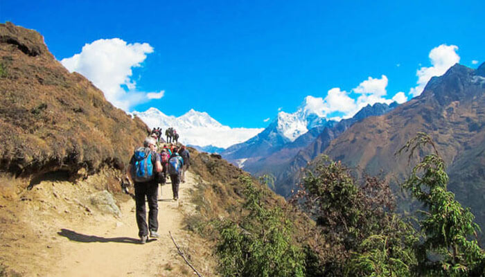Trekking to EBC Tibet in Summer