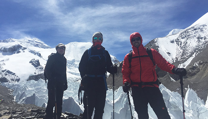 Rongbuk to ABC Trek