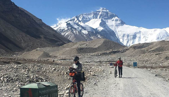 Tibetan Everest Base Camp roads conditions is very good
