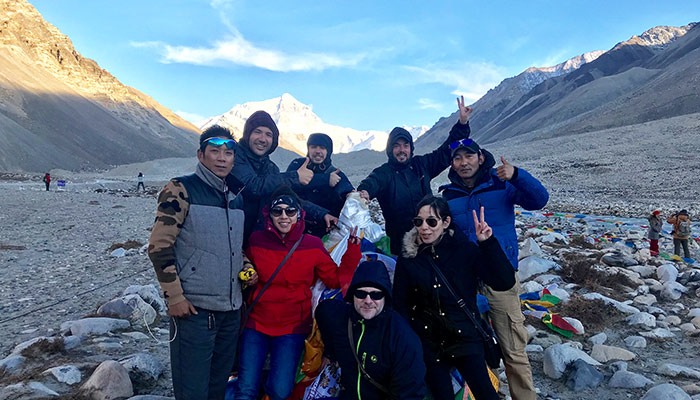 Old Tingri to Everest Base Camp Trek