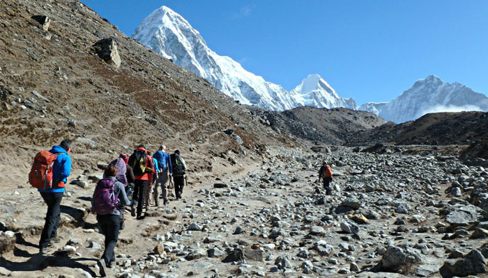 Nepal EBC trek is a 9-day arduous hike
