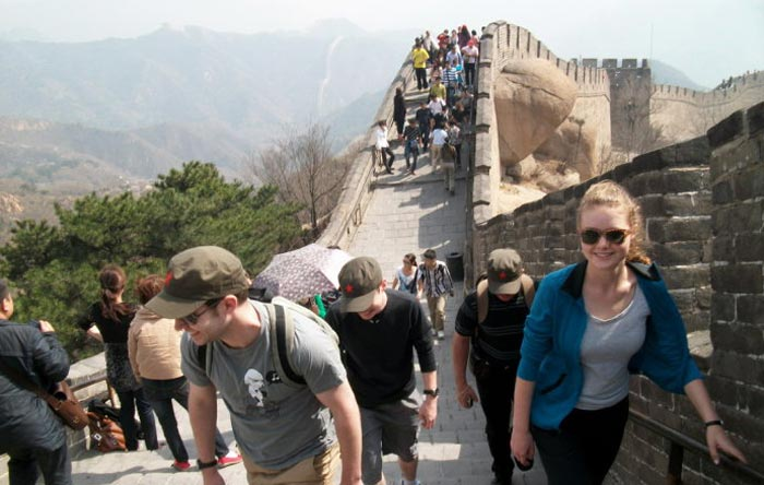 Hiking the Great Wall is one of the highlights of your Beijing tour.
