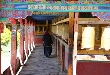 Trundruk monastery is one of the earliest Buddhist monasteries in Tibetan history.