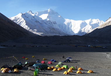 Every April and May  Everest Base Camp will welcome mountaineers around the world to climb Mt. Everest.