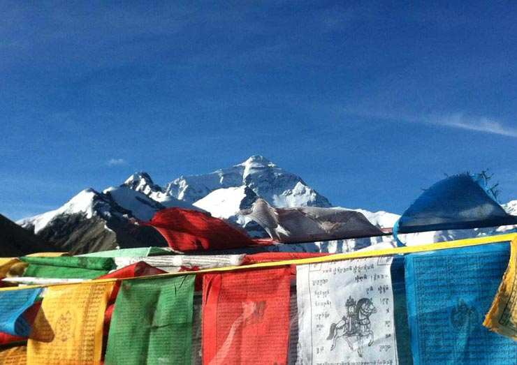 You can see the top of the world is just in front of you in Everest Base Camp.