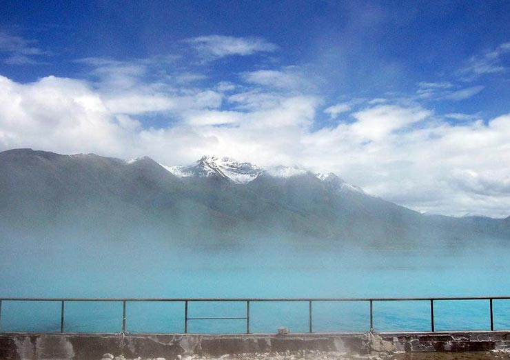 You may experience the Hot Spring in Yangpachen when back to Lhasa city.