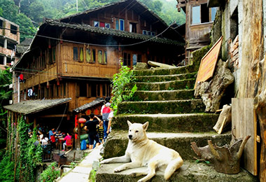 Discover the Ping'an village in Longji