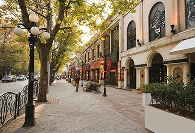 Old French Concession in Shanghai