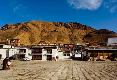 Tashilumpo Monastery is  the seat of Tibet's second highest incarnation - the Panchen Lama.