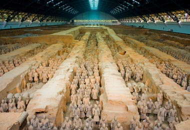 Visiting the Terracotta Warriors and Horses Museum is the top thing to do in Xian.