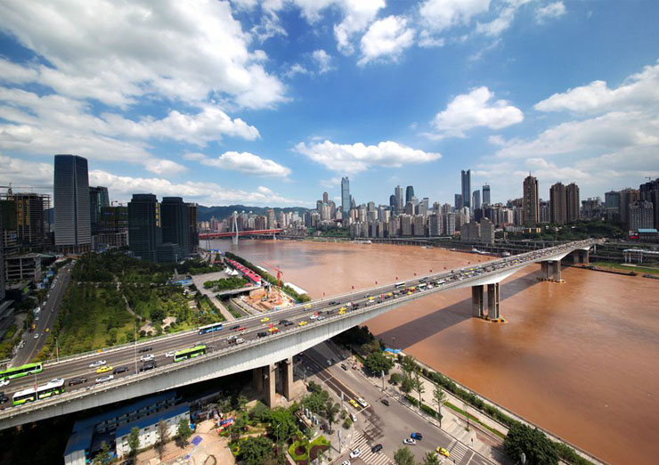 Chongqing city sightseeing