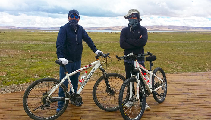 Cycling tours from Lhasa to Namtso Lake