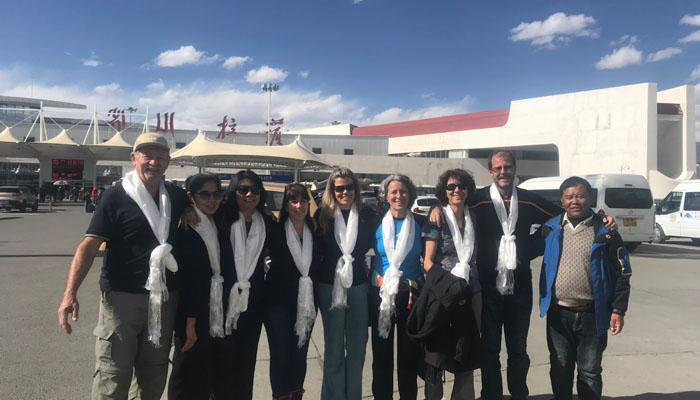 Arrive in Lhasa Gonggar Airport