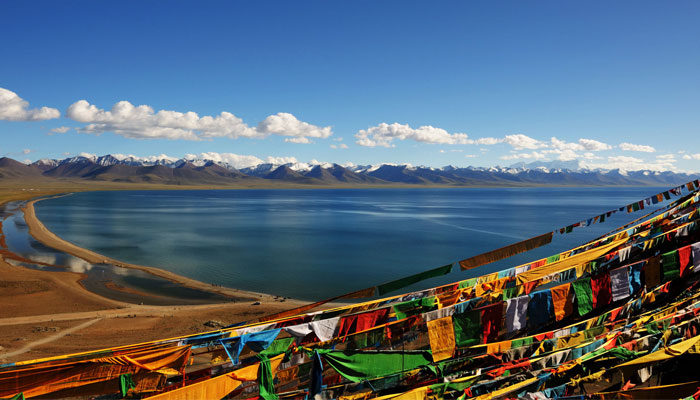 Namtso Lake is situated very high and quite naturally and is the highest lake of planet earth