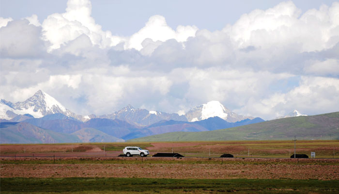 Kekexili Nature reserve in Tibet