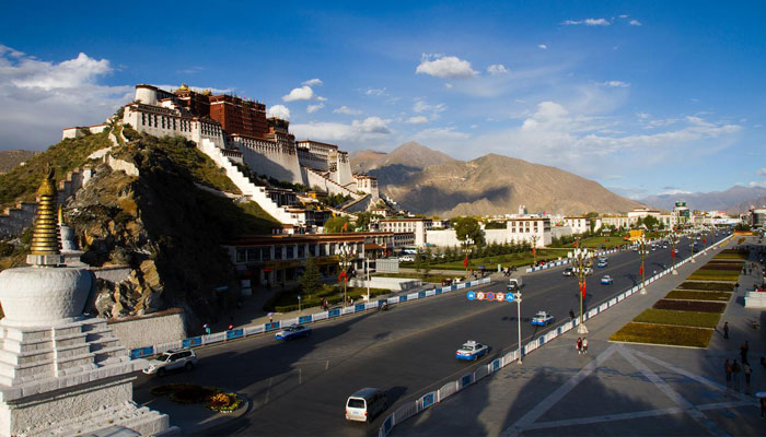 You can pay a visit to The Potala Palace or other religious attracions at Lhasa