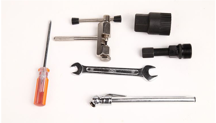 You may need the repair tools while you are on your cycling tour to Tibet