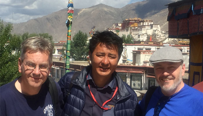 Our Tibetan registered tour guide