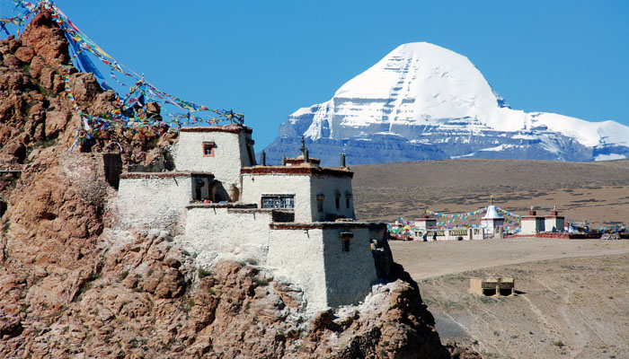 Chuku Monastery on Mount Kailash Kora Route