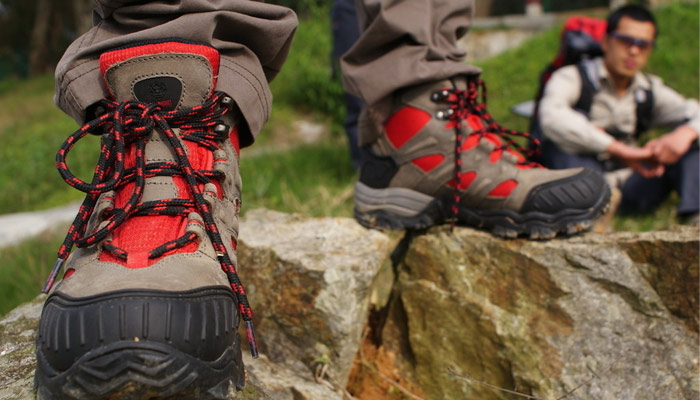 Shoes for trekking Mount Kailash