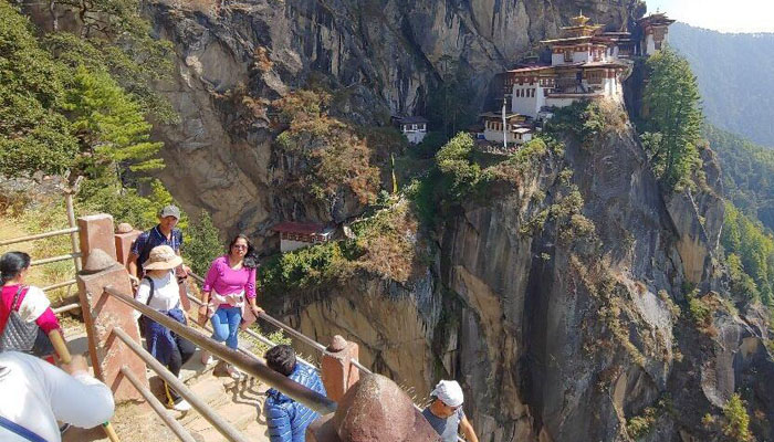 Trek up to the Tiger's Nest Monastery