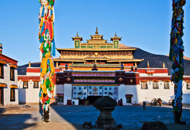 Samye Monastery is Tibet's first monastery.