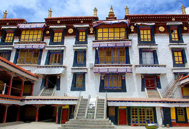 Drepung Monastery is one of the 'Great Three' Gelug monasteries of Tibet.