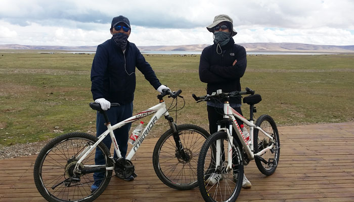 Lhasa to Namtso Lake Cycling