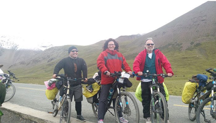 Lhasa to Ganden Monastery Cycling