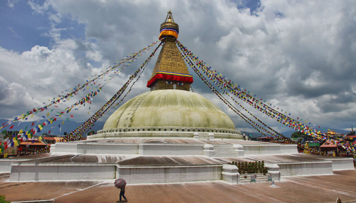 Nepal is famous for its buddhist culture