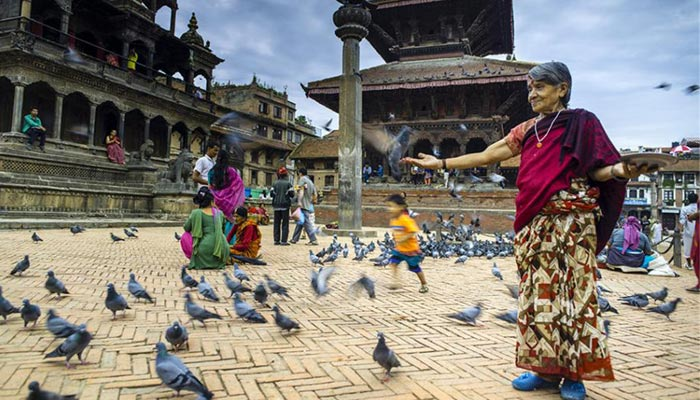 You can experience the culture of the Nepali people in Kathmandu