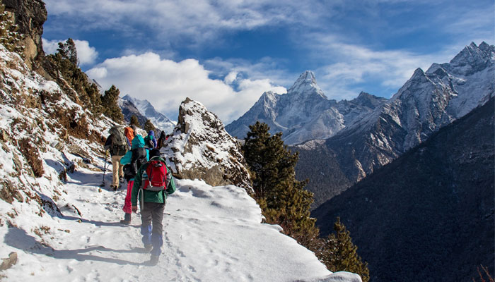 Nepal is the trekking capital of the world