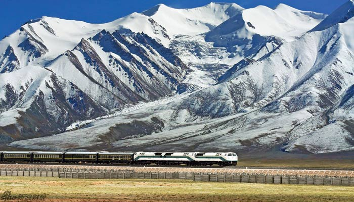The train from Lhasa to Xining
