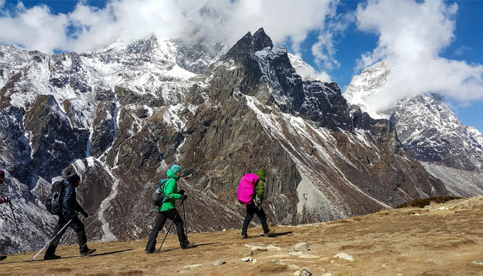 EBC trekking route in Nepal