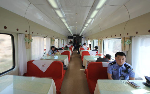 Public Facilities on Tibet Trains