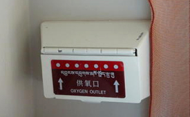 oxygen supply on Tibet train