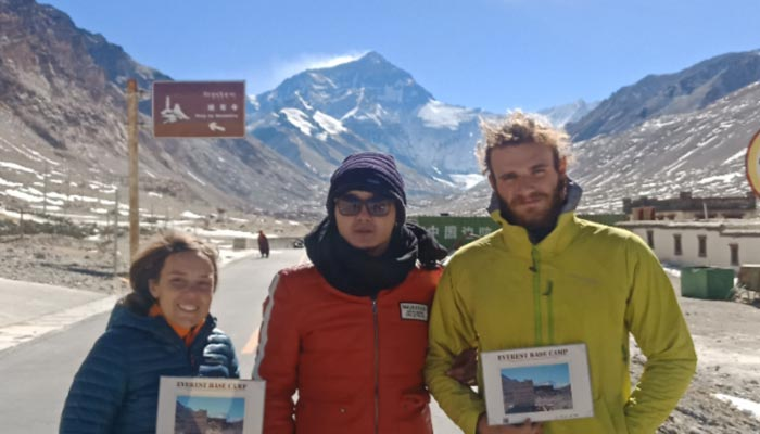 Everest Base Camp in January