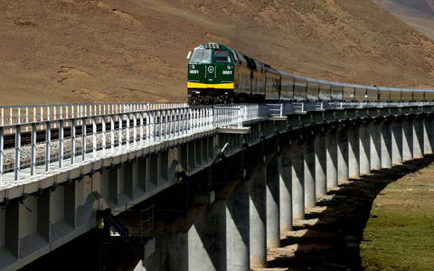 5 Days Tour from Xining to Tibet by Train