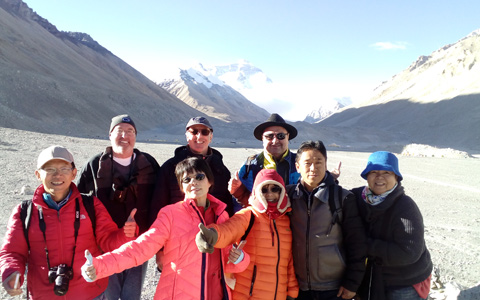 10 Days Kathmandu to Lhasa Tour via Everest Base Camp