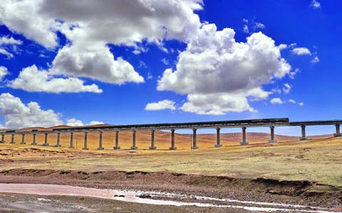 5 Days Tour from Xian to Tibet by Train