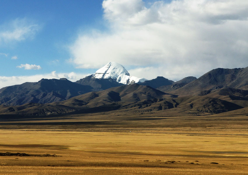 Mount Kailash is the source of four of the largest rivers in Asia.