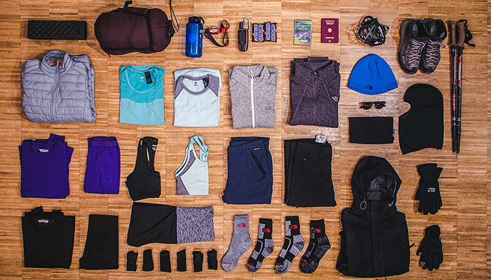 Basic travel clothes for Tibet tour